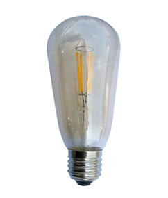 LED Carbon Filament E27 ST57 4W 2200K 305lm Globe