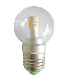 LED E27 Fancy Round 4W 5000K Clear 300D 290lm Globe