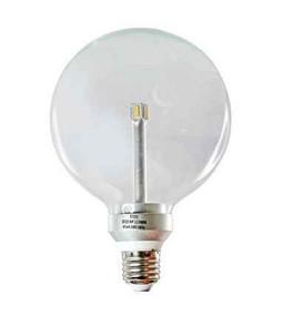 LED E27 G125 6W Clear 5000K 300D 410lm Globe