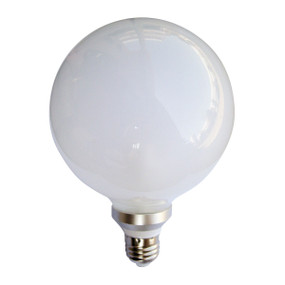 LED E27 G125 6W Frosted 3000K 300D 400lm Globe