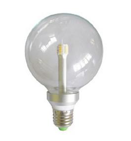LED E27 G95 6W Clear 3000K 300D 350lm Globe