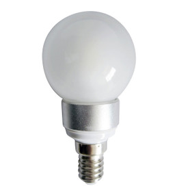 LED E14 Fancy Round 4W 5000K Frosted 300D 300lm Globe