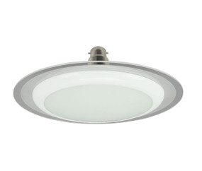 LED White Trumpet B22 Dimmable 15W 3000K White OD180mm 1200lm Globe