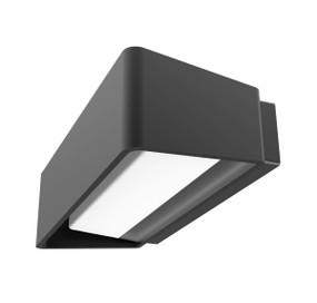 Linear Style Dark Grey Up Down Wall Light