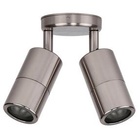 Double Adjustable Spot Lights GU10 - Titanium