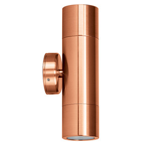 Up Down Wall Pillar Lights GU10 - Copper