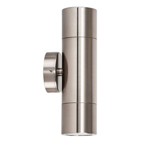 Up Down Wall Pillar Lights GU10 - Titanium