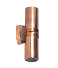 Outdoor Up Down Light MR16 12V - Copper