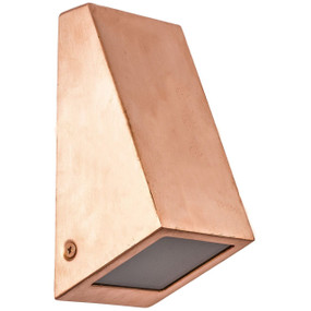 Stunning Modern Outdoor Wall Light - Copper