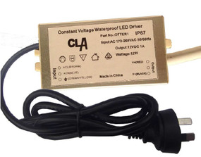 Waterproof LED Driver - IP67 12V 12W 1A