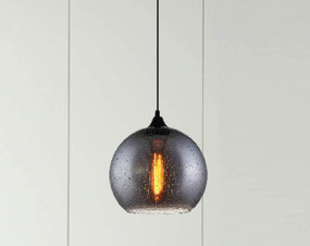 Contemporary Wine Glass Pendant Light