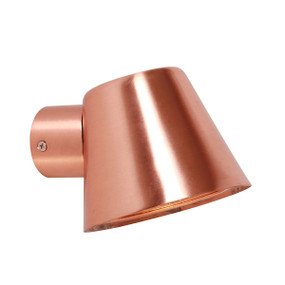 Precision Outdoor Wall Light Copper