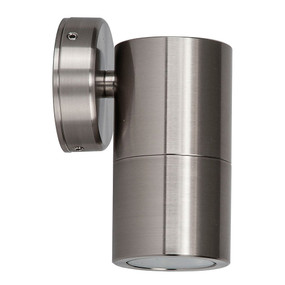 Wall Light - 240V Marine Grade 316 Stainless Steel GU10 35W IP65 13cm