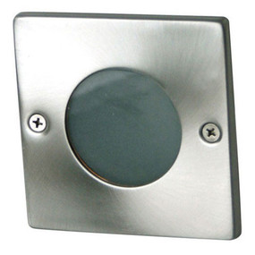 Attractive Recessed Outdoor Wall Light 12V Square Stainless Steel