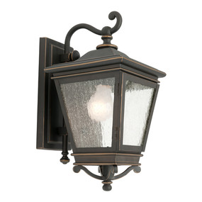 Marine Grade Period Coach Light Black and Bronze