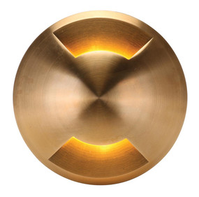 Domus Deka Inground Light Cover - Round Two Way Solid Brass