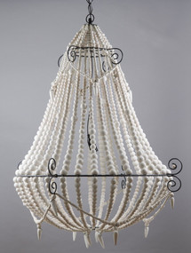 Chandelier Large White - BDD