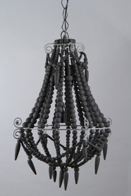 Chandelier Small Charcoal - BDD