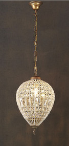 Medium Chandelier - Crystal LRN