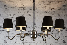 Classic Silver 6 x Arm Chandelier Base - PRS