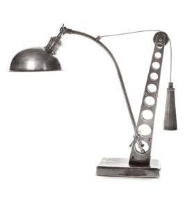 Classic Silver Desk Lamp - BLT