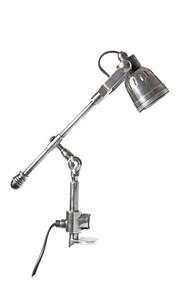 Desk Lamp - Clip On Antique Silver STT