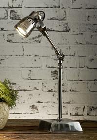 Classic Silver Desk Lamp Finish - STT