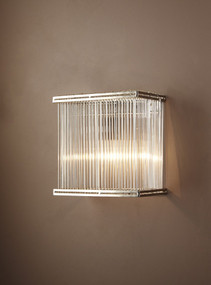 Rectangular Glass Wall Lamp - VRR