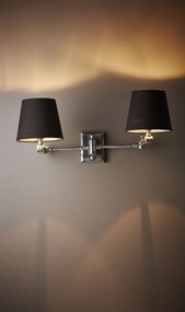Classic Silver Wall Lamp - WRC