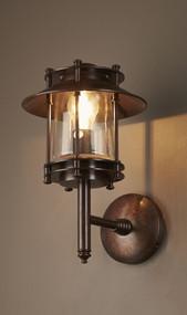 Classic Brass Wall Lamp Dark - TRN