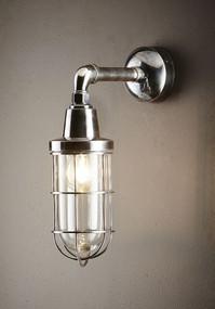 Classic Silver Wall Light - STR