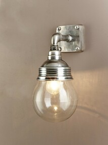 Classic Silver Wall Lamp - DVR