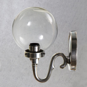 Classic Silver Wall Lamp - TSC
