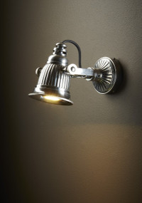 Wall Lamp In Silver - CLD