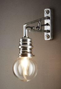 Wall Lamp In Silver - CRL