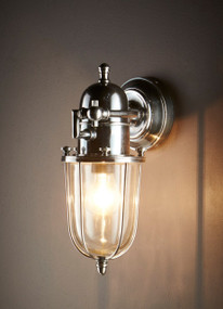 Wall Lamp Outdoor Silver - CHP