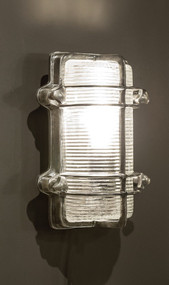 Classic Silver Wall Lamp - HRL
