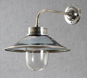 Classic Silver Wall Lamp - SND