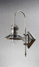 Classic Silver Wall Lamp - STJM