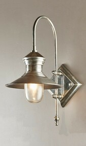 Classic Silver Wall Lamp - STJM