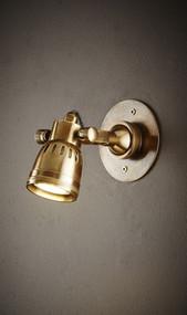 Classic Brass Short Arm Wall Light - STT