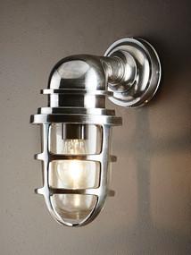 Classic Silver Wall Lantern - PRT