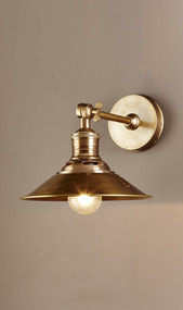Classic Brass Wall Sconce - BRS