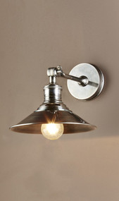 Classic Silver Wall Sconce - BRS