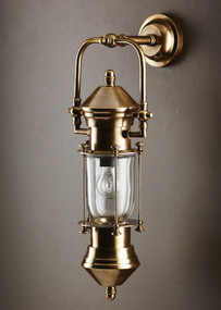 Classic Brass Ship Lantern - LSB
