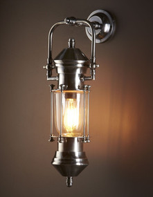 Classic Silver Ship Lantern - LSB