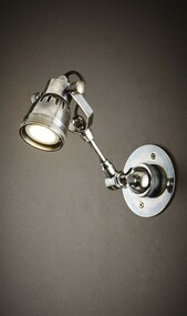 Classic Silver Long Arm Wall Light - STT