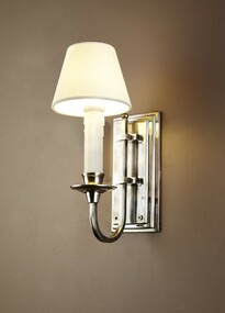 Classic Silver Wall Light - EBRN