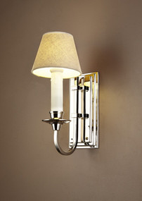 Wall Light In Nickel - EBRN