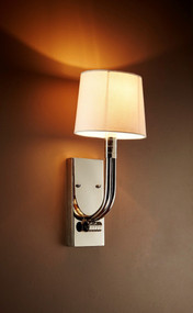 Wall Sconce In Nickel - SLS
